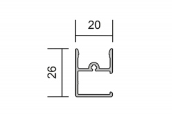 maxi premium rollo f r wandmontage mit winkelblende. Black Bedroom Furniture Sets. Home Design Ideas