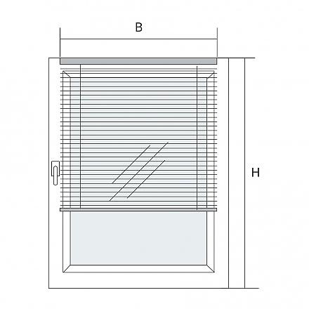 classic storen f r fensterfl gelmontage. Black Bedroom Furniture Sets. Home Design Ideas